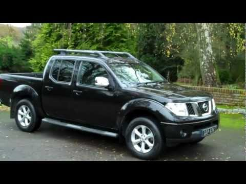 Nissan Navara 2 5 DCi Aventura Automatic 2008 58 Black with Leather