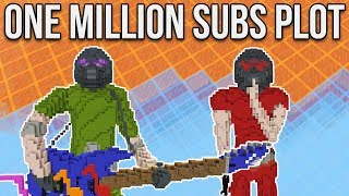 Minecraft Creative Inspiration: One Million Subs Plot Special