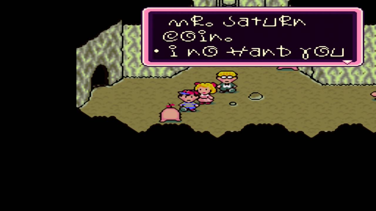 Earthbound Mr Saturn Coin Youtube