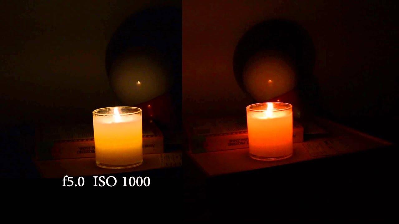 Canon 70D VS Nikon D5200 - ISO Low light test & Canon 70D VS Nikon D5200 - ISO Low light test - YouTube