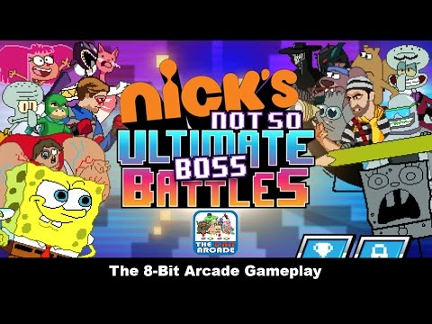 Nick's Not So Ultimate Boss Battles – Defeat Nickelodeon's Most Evil Villains