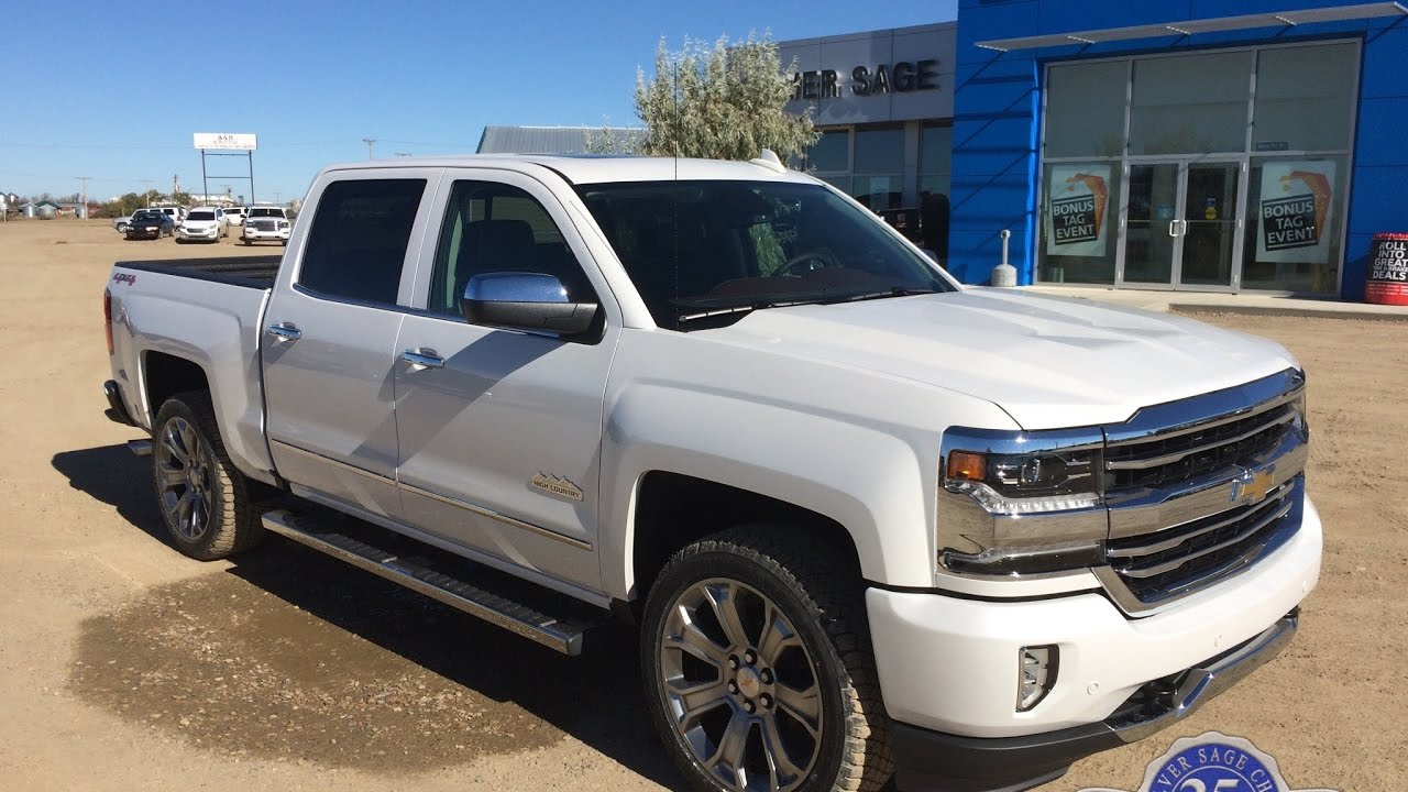 Stock# T17112 Brand new 2017 Chevrolet Silverado High ...