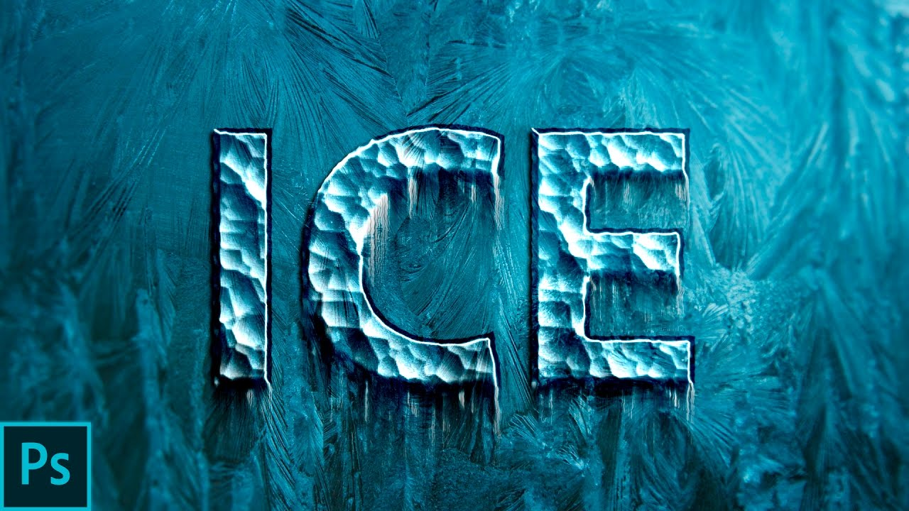 How to create ice or frozen text effect in photoshop adobe how to create ice or frozen text effect in photoshop adobe photoshop cc 2017 tutorial baditri Images