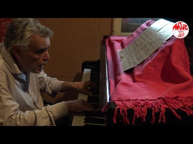 F. Laterza Trio feat. Steve Cantarano & John Arnold live at Sarasvati Studio - Don't Forget the Poet