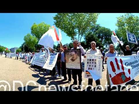 360 VR Video: Muhajirs rally for Human Rights
