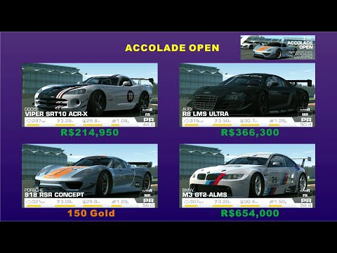 Real Racing 3 - Prices Of The Car In Expert Category