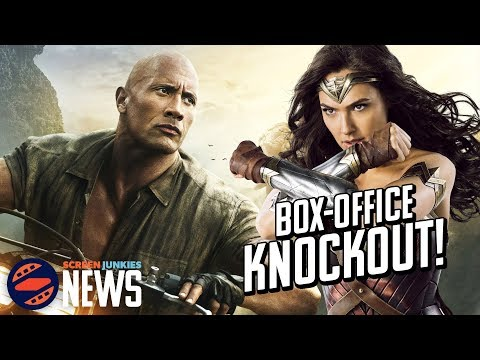 Jumanji KOs Wonder Woman & Spider-Man - Charting with Dan