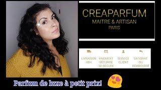 "[creaparfum] revue de parfum de ""luxe"" a petit prix!!!"