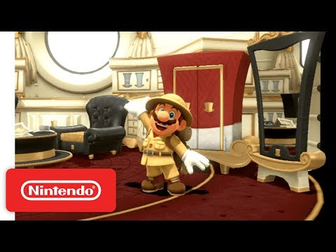 Super Mario Odyssey - Wooded Kingdom Demonstration - Nintendo E3 2017