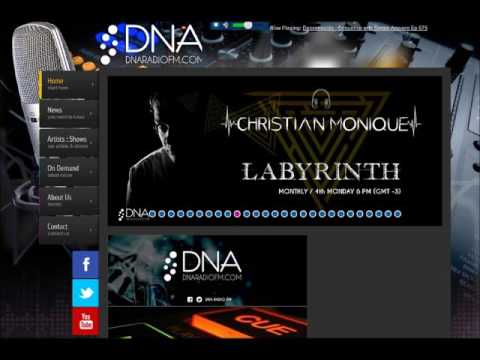 Christian Monique Live @ Labyrinth DNA Radio FM22 8 2016