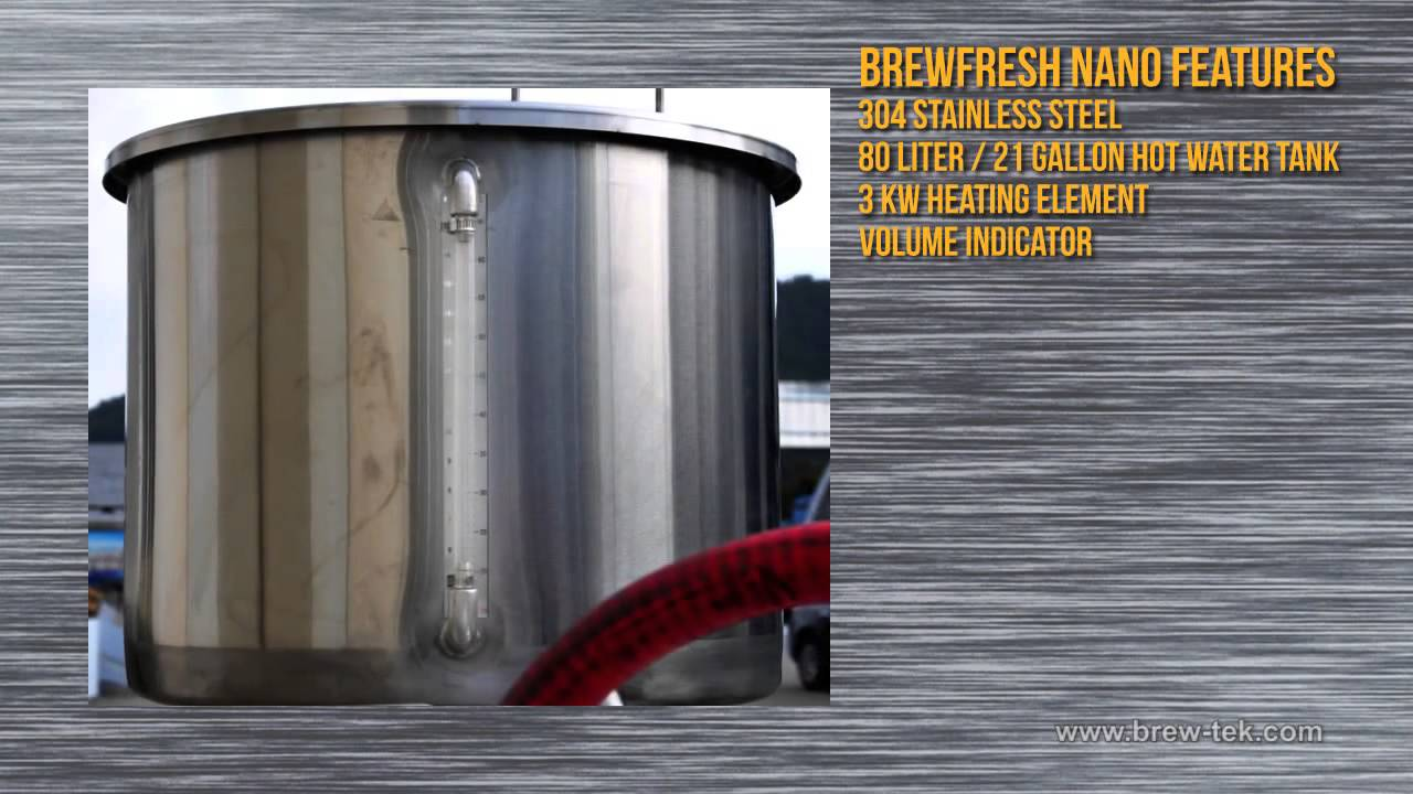 BrewFresh Nanobrewery - Brew-Tek Australia