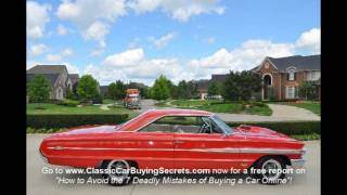 1964 Ford Galaxie XL Classic Muscle Car for Sale in MI Vanguard Motor Sales