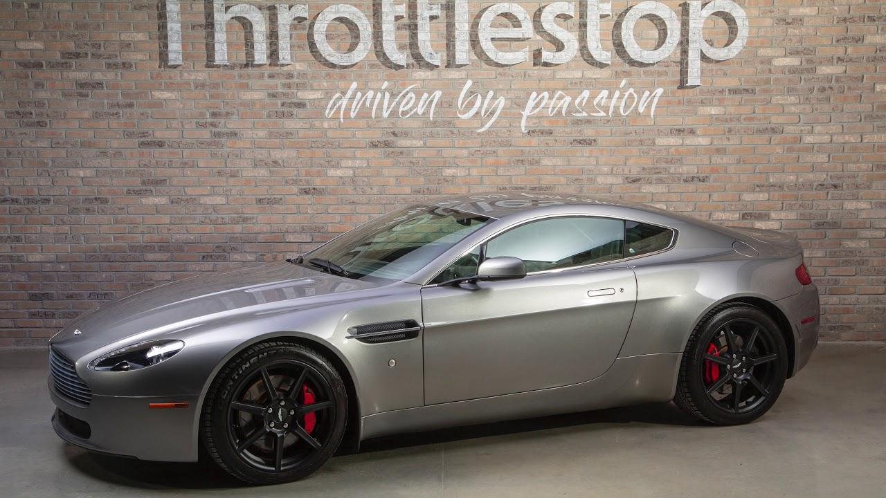 2008 Aston Martin Vantage Coupe Youtube