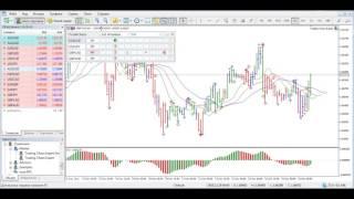 Trading Chaos Expert подключение и настройка на МТ5.