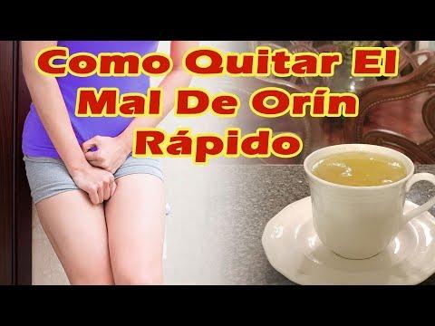 COMO QUITAR EL MAL DE ORIN RAPIDO Remedios Caseros Para La Infeccion Urinaria