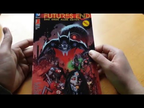 Futures End 1 Review Deutsch DC Comics Feb 15