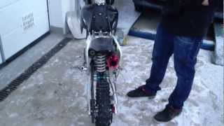 Dirt bike yx 160 sound