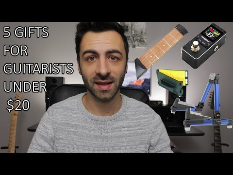 Top 5 Gifts For Guitarists Under $20