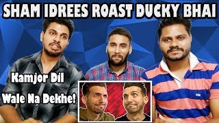 Indian Reaction On SHAM IDREES ROAST By Ducky Bhai | Krishna Bhai