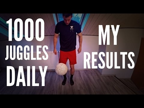 1,000 Juggles Every Day for 3 Months  My Results