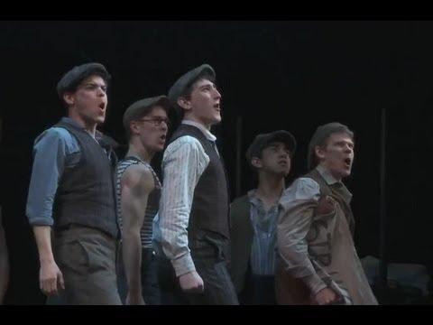 Newsies the Musical - Broadway Opening Night 2012
