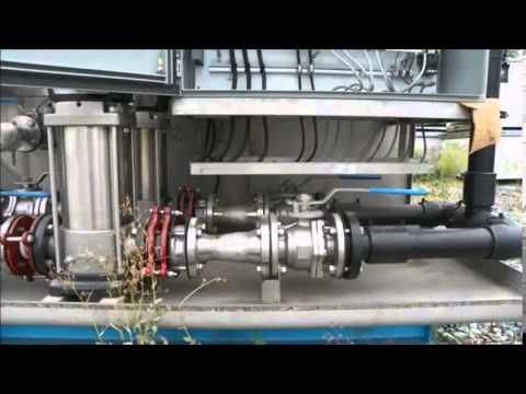 300pe Sea Water Wastewater Treatment System, BioKlar Ltd