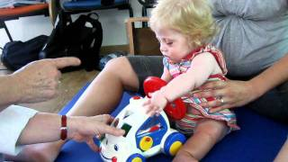 Hypotonia  - Alisa - 11 month old, physiotherapy.