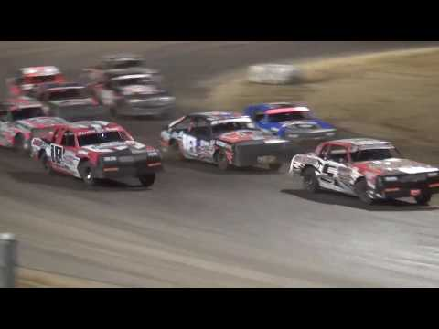 IMCA Hobby Stock Iowa Donor Night feature Independence Motor Speedway 8/10/19