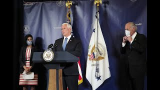 Gov. Henry McMaster and Vice President Mike Pence hold briefing on COVID-19 in S.C.