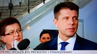 Grzegorza Schetyny nie krytykowałem NA narty - Ryszard Petru przejęzyczenie wpadka śmieszne