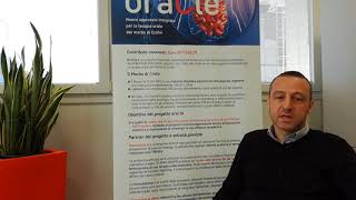 Progetto oraCle - intervista a Paolo Macor, Università di Trieste