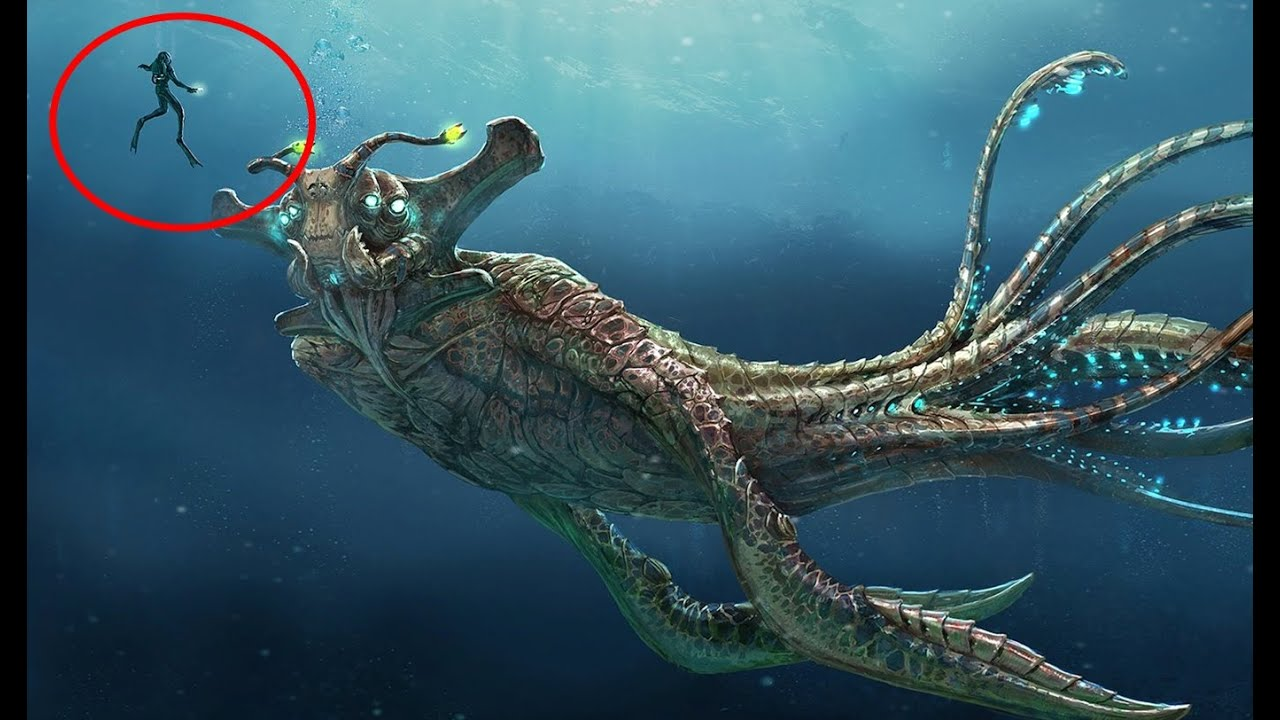 Giant Prehistoric Sea Creatures 10 Terrifying M...