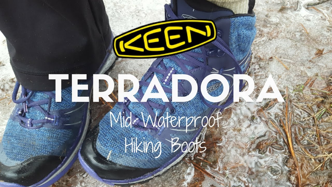 06dbbdfa3d9 Keen Terradora WP Hiking Boots - Tested & Reviewed - YouTube