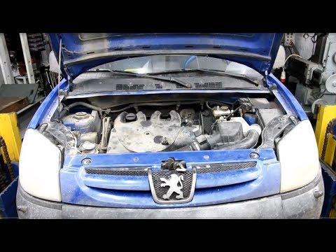 Причина попадания масла в антифриз Peugeot Partner