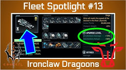 Battle Pirates: My Ironclad Dragoon Build [Fleet Spotlight #13] October 2019