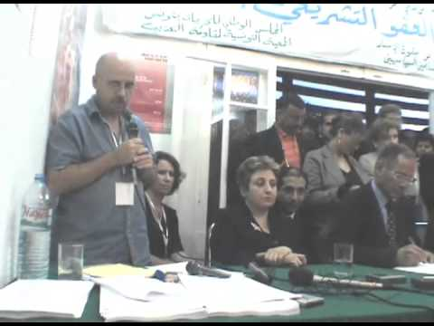 Press Conference in Tunisia during WSIS