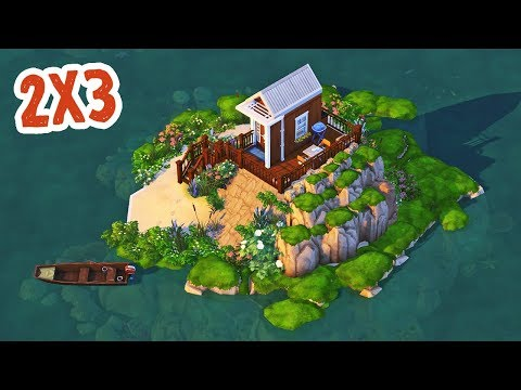2x3 Micro Home || The Sims 4 Tiny Living: Speed Build