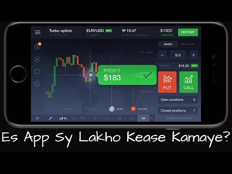 Iq Option In Pakistan | How To Earn Money From IQ Option in Pakistan | IQ Option in Urdu
