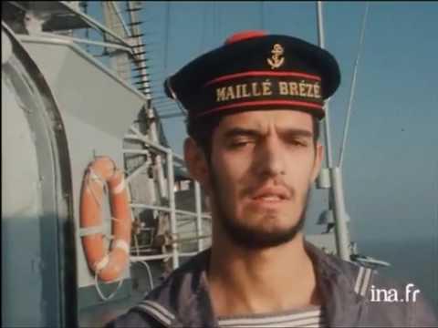 Le Maillé-Brézé en 1977 -Marine nationale-