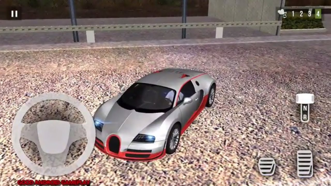 Car Parking 3D: Super Sport Car   Bugatti Veyron Parking Challenge Android  GamePlay FHD
