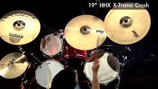Sabian 19 HHX X Treme Crash