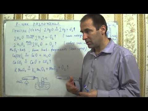 Уравнения химических реакций видеоурок видео ::
