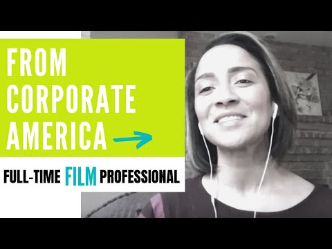 From Corporate America to FILM! With 2 kids!
