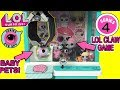 LOL Surprise Series 4 Claw Machine Game With LOL Series 4 Pets!   LOL Surprise Crane Machine Game!