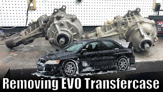 EVO Transfer Case Removal // ACD Transfercase // Mitsubishi Lancer Evolution
