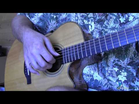 Right Hand Position For Fingerpicking - Learn How To Play Guitar