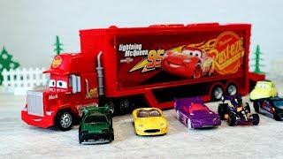 Трейлер Мак - Тачки и игрушечные машинки. Игрушки для детей
