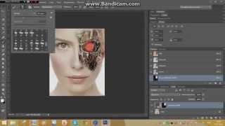 Урок #1 по Adobe Photoshop CS6 (Человек Робот)