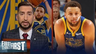 Warriors season will show what type of superstar Steph Curry is — Nick | NBA | FIRST THINGS FIRST