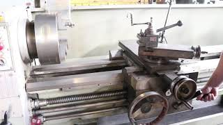 "Clausing Colchester 17"" x 80"" Engine Lathe"